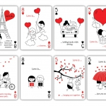 """Love Is…"" deck. Love is in the card"