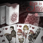 Love is Smoke Playing Cards. Smoke gets in your eyes… or perhaps it is the darkness