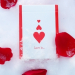 """Love Is…"" Playing Cards. Love me again, but this time… forever"
