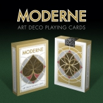 Moderne Art Deco Playing Cards. The beauty of the geometric simplicity