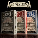 Bicycle US Presidents Decks. A poker night with 44 Presidents… and some first ladies