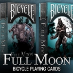 Full Moon Bicycle Playing Cards. Live the real transformation of the werewolves