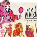 Vivido Playing Cards. Eccentric and flamboyant art