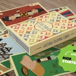 Cultura Playing Cards. Fun tour through four countries and their traditions