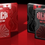 Black Widow Playing Cards. The deck that will catch you in its web