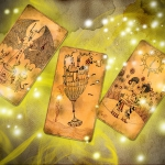 The Book of Shadows. The tarot cards of an alchemist in a parallel world