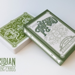 Viridian Playing Cards. The new creation by the not so new Trikard Projects group