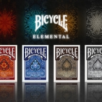 Bicycle ELEMENTAL Playing Cards. The Four Elements series
