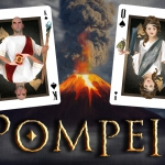 POMPEII Playing Cards. The first deck of The Black Diamon ERUPTS