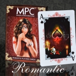 ROMANTIC Playing Cards. Woman-shaped beauty and fantasy