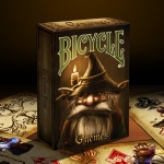 Bicycle GNOMES Playing Cards. These cards are small but strong