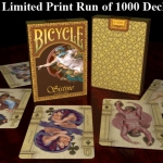 BICYCLE SISTINA Playing Cards. One thousand copies of the masterpiece