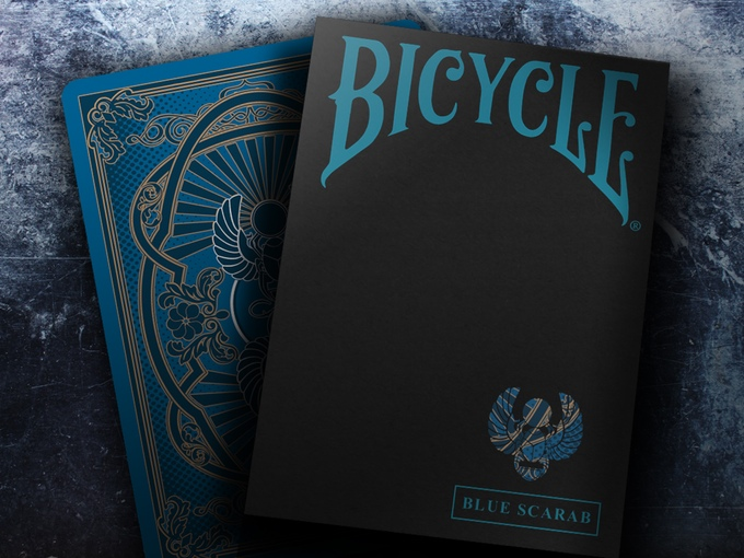 BICYCLE SCARAB decks  The power of the sacred beetle - Max Playing Cards