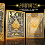 BICYCLE AURORA Limited Deck. Elegant playing cards inspired by the sunrise