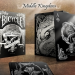 MIDDLE KINGDOM BLACK BICYCLE deck. Chinese culture and tradition now in black