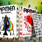 PIPMEN Playing Cards. The stickmen of the deck are back to stay