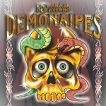 DEMONAIPES deck. The most evil and funny playing cards