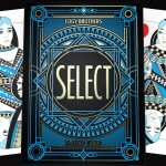SELECT Playing Cards by Edgy Brothers. New look with artistic inspiration