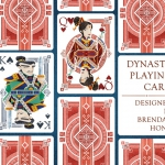 DYNASTY Playing Cards. Stilish decks Inspired by ancient oriental roots