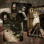 GOTHIK Playing Cards. Beautiful hand-painted illustrations come from the deepest darkness