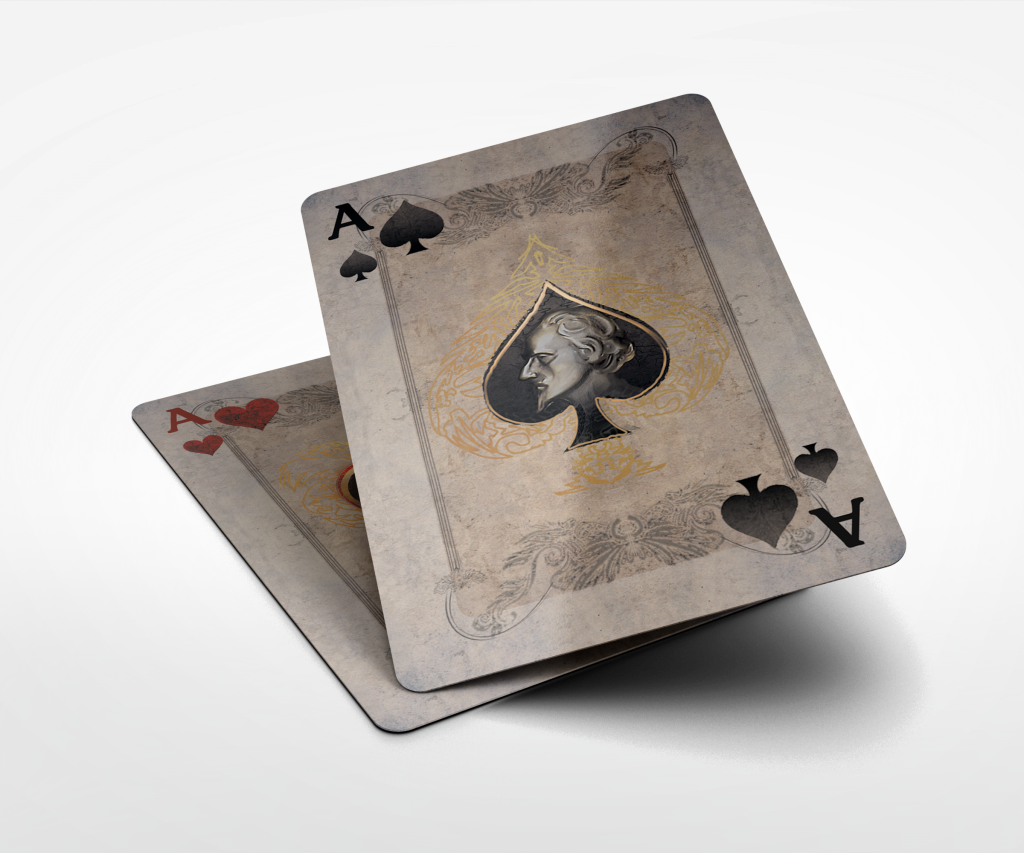 Ace Spade and Heart transparent