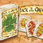 Jack in the Green Playing Cards. Nature and mythology full of color