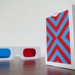 TRIPLE VISION Playing Cards relaunch. Cyan and red for tridimensional enjoyment