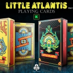 LITTLE ATLANTIS Playing Cards. The smallest of the remote underwater worlds