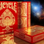 BICYCLE SYZYGY Playing Cards. A cosmic wonder caused by the alignment of the stars