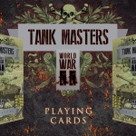TANK MASTERS Playing Cards. World War II seen from a tank