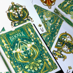 NOUVEAU BIJOUX Playing Cards. A real jewel from the Art Nouveau