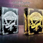 MIDDLE KINGDOM GOLD AND SILVER Playing Cards. New editions with much more relief
