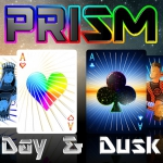 PRISM: DAY y DUSK Playing Cards. The definitive relaunch. Exclusive images of the SPECTRUM deck