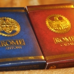 ROME Playing Cards. Hail, Emperor! those who are about to collect salute you!