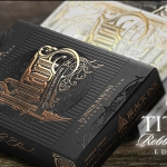 TITANS Robber Barons Playing Cards. The most despicable way to achieve the success
