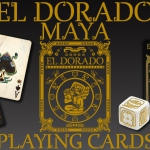 EL DORADO – MAYA Playing Cards. The legend of gold in colorful ancient civilizations