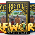 BICYCLE ERFWORLD decks. Characters from the webcomic universe visit the world of playing cards
