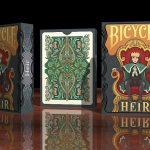 BICYCLE HEIR Playing Cards. Parents and children from the most remote places of space and time