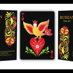 RUSSIAN FOLK ART Limited Edition Playing Cards. The court cards are more Russian than ever