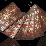 BRANLE TESORO Playing Cards. The refined double foiled luxury of the 16th century