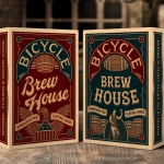 Bicycle BREW HOUSE decks. Playing cards to be served ice-cold