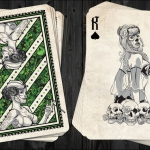 DAY OF THE DOLLS Playing Cards: BOMBSHELL Edition. A real bomb of illustrated beauties