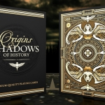 ORIGINS SHADOWS OF HISTORY Playing Cards. Tradition and history as inspiration of beauty