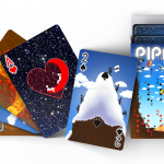 PIPMEN WORLD FULL ART Playing Cards. A world without borders