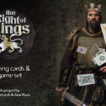 THE RIGHT OF KINGS Playing Cards. Get your court and conquer the medieval world