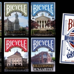 BICYCLE HOMETOWN Series. Playing cards to preserve the historical memory of the United States