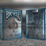 RIDER BACK METAL DECK BLUE Edition Playing Cards. ONE week to launch