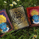 MANTRA Playing Cards. Three decks that will give you spiritual calm