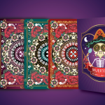 MUERTOS ANIMALS EDITION Playing Cards by Natalia Silva. Pets join the fiesta