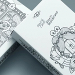 ALICE IN WONDERLAND Playing Cards. Eat me, drink me, enjoy me